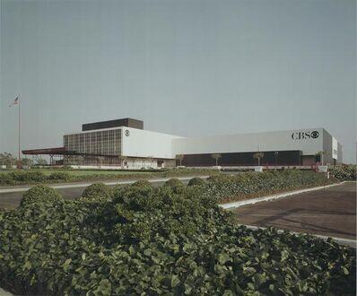 Julius Shulman, 'Columbia Broadcasting System (CBS) Studios. William L. Pereira & Associates. District, Los Angeles, California. ', 1979