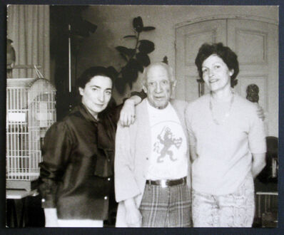 Brassaï, 'Jacqueline, Picasso et Gilberte Brassai ', 1971