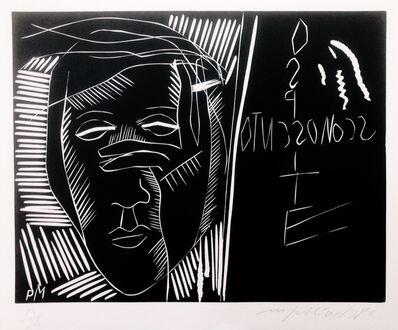 Mimmo Paladino, 'Terra Tonda Africana No 4', 1986