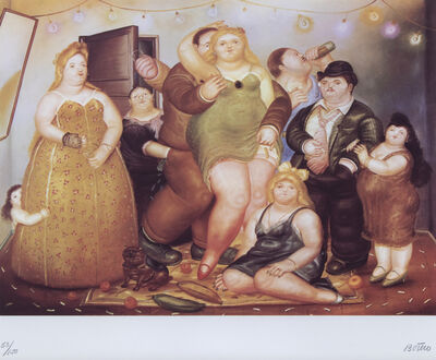 Fernando Botero, 'La Maison de Raquel Vega', 1985