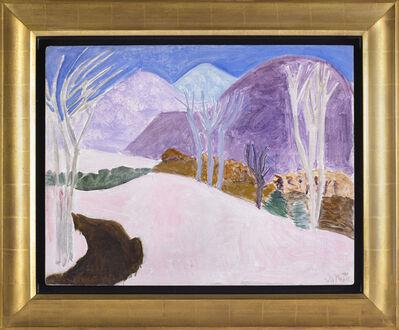 Sally Michel, 'Winter Landscape', 1983