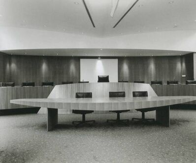 Lynne Cohen, 'Conference Room', 1990's