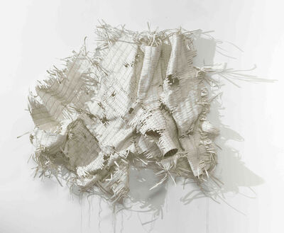 Harendra Khushwaha, 'A Piece of nothing- some lines with life and  time', 2015