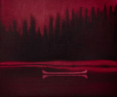 Mike Piggott, 'Red Canoe', 2019