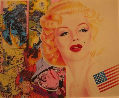 Erró, 'Crying Marilyn', 2002
