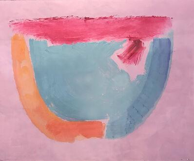 Trevor Bell, 'Pink-Blue Rocker', 1987