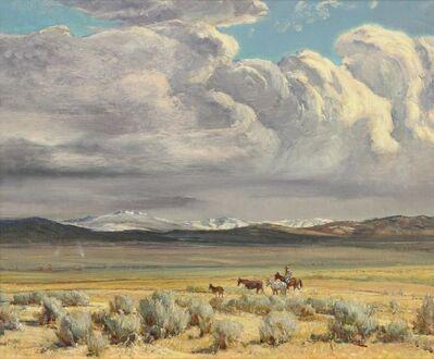Oscar Berninghaus, 'Truchas Peaks (Taos Valley) ', 1949