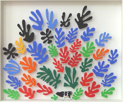 Volker Kühn, 'Homage to Matisse (little cow) '