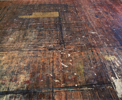 Kevin Capon, 'Westward View, Colin McCahon's Muriwai Studio Floor', 2006