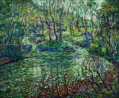 Ernest Lawson, 'Connecticut Trout Stream', 1920