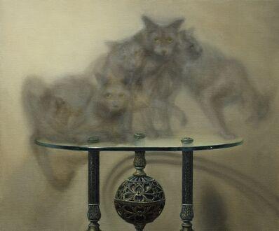 Zane York, 'Cat on Table ', ca. 2019