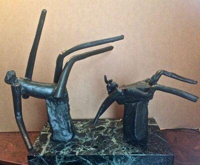 Reuben Nakian, 'Nymph and Goat', 1982