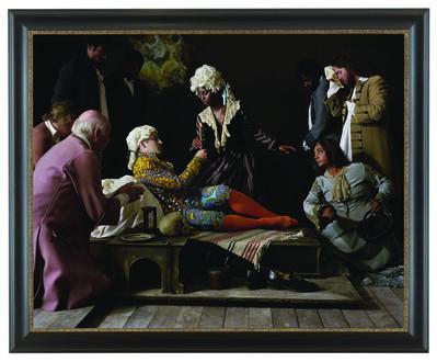 Yinka Shonibare CBE, 'Fake Death Picture (The Death of St Francis – Bartolomé Carducho)', 2011