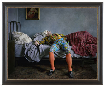 Yinka Shonibare CBE, 'Fake Death Picture (The Suicide – Manet)', 2011