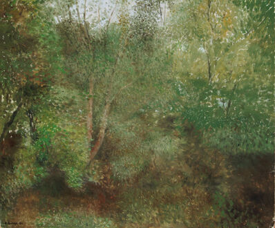 Richard Eurich, 'Birches and undergrowth', 1982