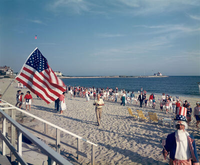 Tina Barney, '4th of July on Beach', 1989