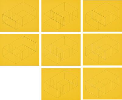 Fred Sandback, 'Eight Variations for Galerie Heiner Friedrich', 1971-73