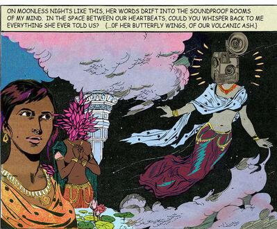 Chitra Ganesh, 'On Moonless Nights', 2016