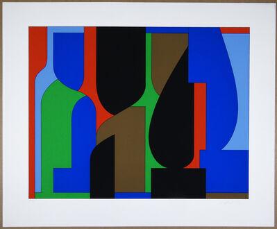 Victor Vasarely, 'Denfert', 1970s