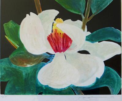 Gary Bukovnik, 'Magnolia blossom - Lithograph ', 1997