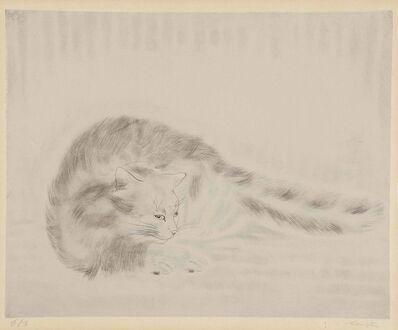 Léonard Tsugouharu Foujita, 'Chat Allongé', 1929