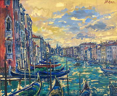 Bruno Zupan, 'Grand Canal from Palazzo Dandolo', 2019