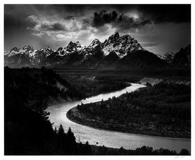 Ansel Adams, 'The Tetons and Snake River, Grand Teton National Park, Wyoming', 1942