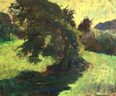 Richard Snyder, 'Tree With Trumpet Vine'