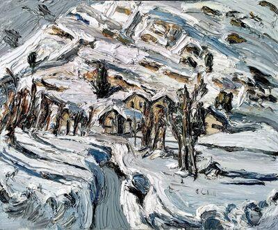Christopher Lehmpfuhl, 'Verschneiter Bachlauf, Engadin', 2016