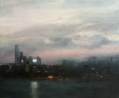 Benjamin Warner, 'Dusk, Hong Kong Harbour', 2018