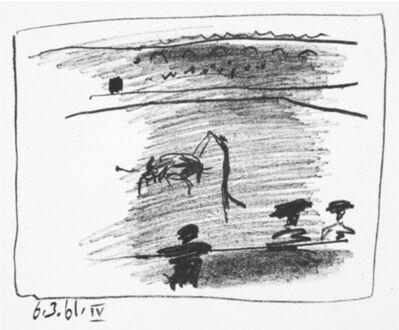 Pablo Picasso, 'Les Banderillas', 1961