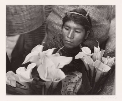 Ellen Auerbach, 'Lily woman, Oaxaca, Mexico', 1959