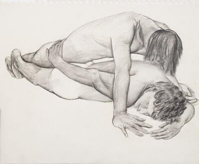 Patrick Angus, 'Untitled ( Two Boys Intimate )', n.a.