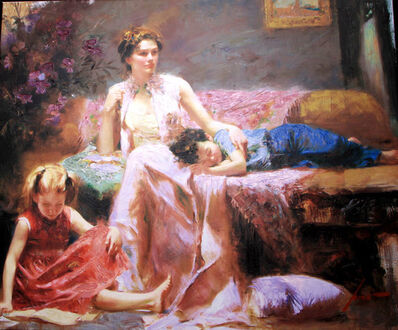 Pino Daeni, 'Reflections of the Heart', 2008