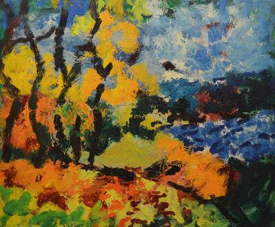 Aron Froimovich Bukh, 'The lake', 1997