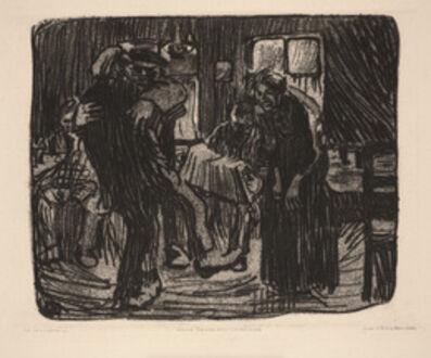 Käthe Kollwitz, 'Hamburg Tavern (Kneipe Hamburger)', 1901