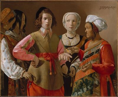 Georges de La Tour, 'The Fortune-Teller', ca. 1630–1639