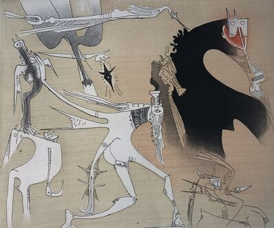 Wifredo Lam, 'Lames de Lam 3', 1977