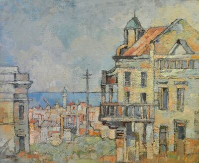 Gregoire Johannes Boonzaier, 'Harbour', 1979