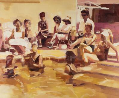 Kirsten Tradowsky, 'Ladies Lounging Poolside 1960', 2018