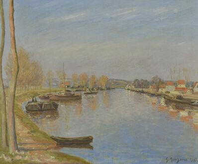 George Manzana-Pissarro, 'Bords de Seine', 1902