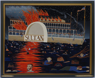 Chris Roberts-Antieau, 'The Sultana', 2014