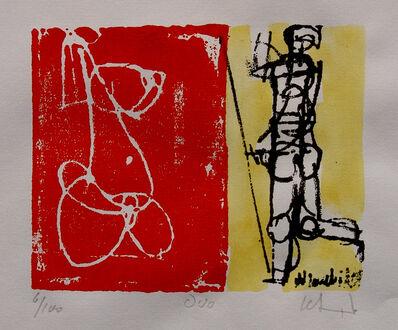 Herbert Siebner, 'Duo', ca. 1980