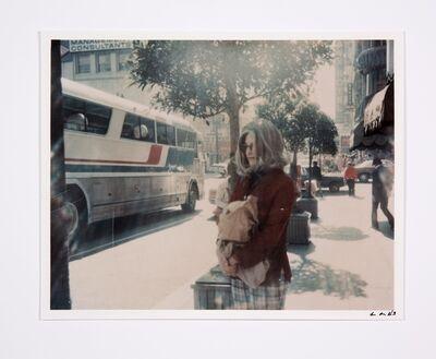 Lynn Hershman Leeson, 'Roberta at Bus Stop', 1978