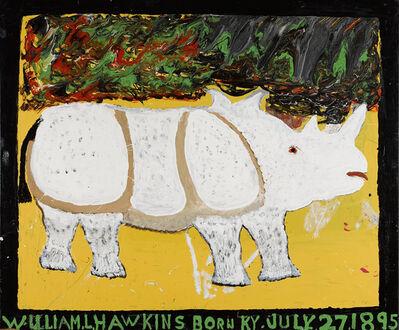 William Hawkins, 'Rhinoceros', 1983