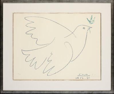 Pablo Picasso, 'La Colombe Bleu', 1961