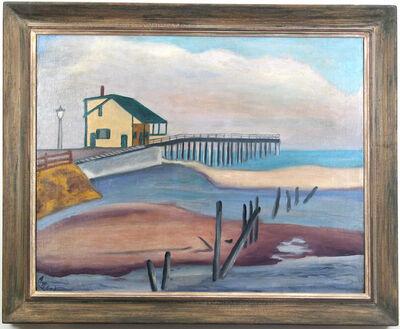 Alice Neel, 'Fishing Pier, Spring Lake', 1934-1938