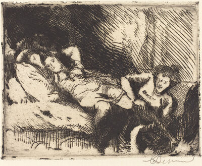 Albert Besnard, 'Going to Bed (Le coucher)', 1913