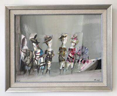Hayk Gasparyan, 'Figures in Grey', 2016