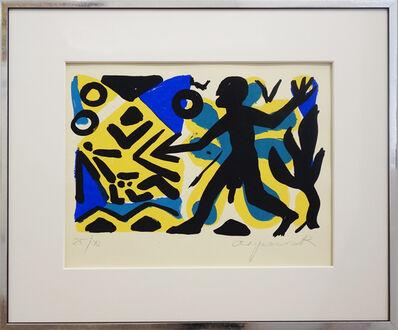 A.R. Penck, 'Zivillisation', 2000
